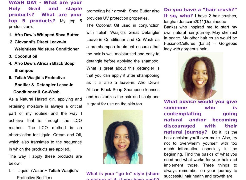Afro Dew Part 2